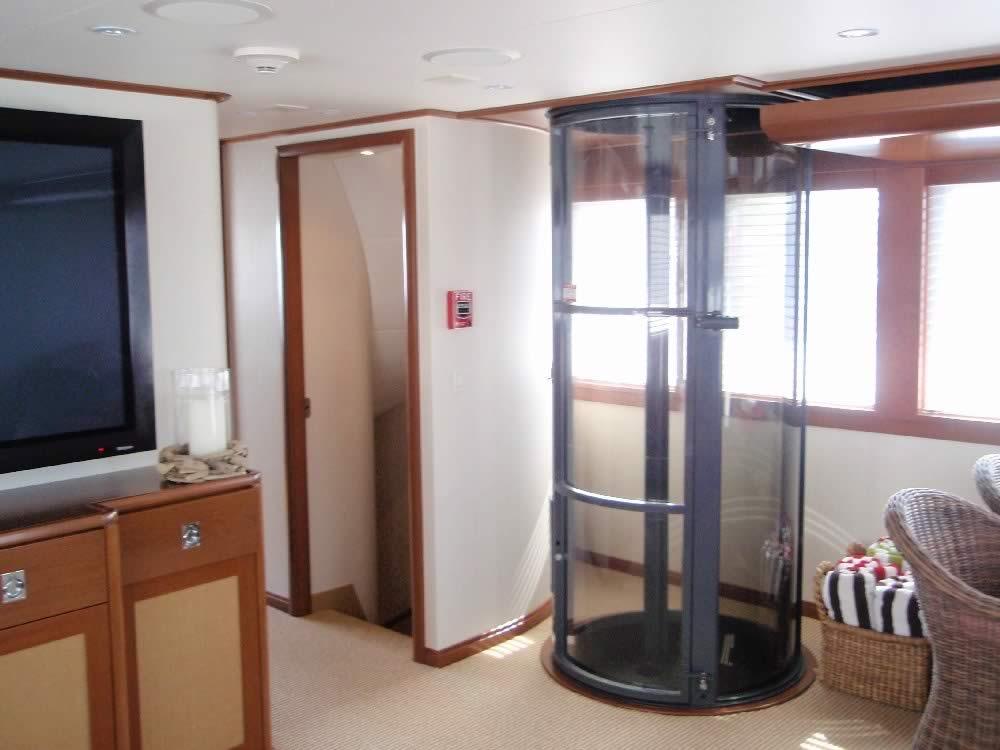 Yachts e navi avp ascensori for Filiale di cabina clarksburg